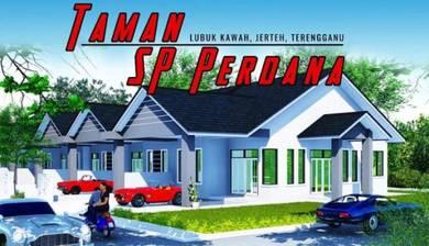 Rumah Teres Depan Hospital Besut, Jerteh