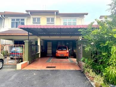 RENOVATED Double Storey ENDLOT Terrace Laman Indah Bandar Seri Putra