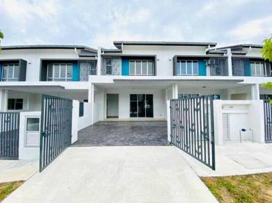 FACING OPEN Double Storey Terrace Serenia City Amani Kota Warisan