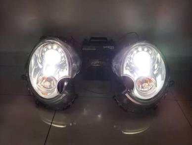 Mini Cooper s r56 hid projector head lamp original