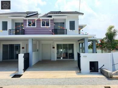Freehold Rumah 2 Tingkat di Klebang