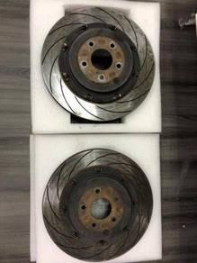 Rear Dixcel Disc rotor with Hubs 380mm R35 GTR GTR