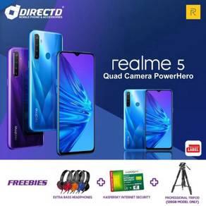 RealMe 5 (3GB RAM | 64GB ROM | 5000 mAh)+ 2 HADIAH
