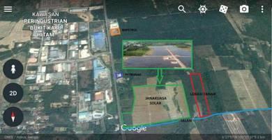 Tanah Berhampiran Kawasan Perindustrian Bandar Bukit Kayu Hitam