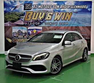 BUY & WIN 2017 Mercedes A180 AMG with 5yrs Wrrnty