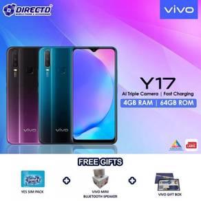 VIVO Y17 (4GB RAM | 64GB ROM)PERCUMA 3 Hadiah