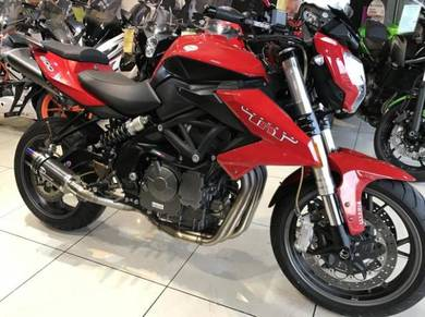 Benelli TNT600S ~ TNT600  ~ TNT 600 With Exhaust