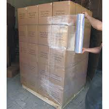 Plastic Pallet Film and Container Sealed