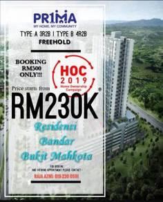 New Apartment| 0% Downpayment| Rumah Prima Bangi Kajang