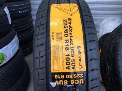 Tayar baru 225 60 18 Continental UC6 SUV tyre 2021