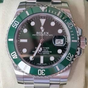 Rolex Submariner Green Hulk 116610LV 40m Automatic
