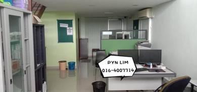 Suntech Bayan baru office space F/furnish 829sf Mezzanine floor