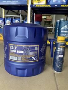 Minyak Enjin Diesel Mannol UHPD Blue TS-7 7L + FG
