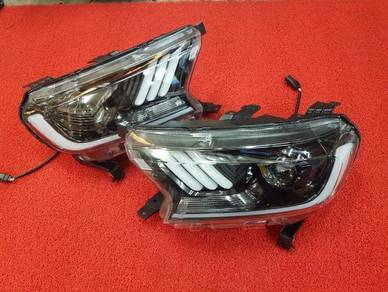 Ford ranger t7 projector led headlamp head lamp