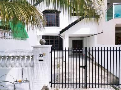 Taman Skudai Baru Double Storey Terrace House Near Ungku Tun Aminah