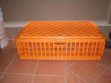 Chicken Plastic Cage