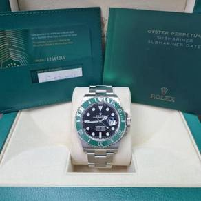 Rolex Submariner Green Starbuck 126610LV 41mm