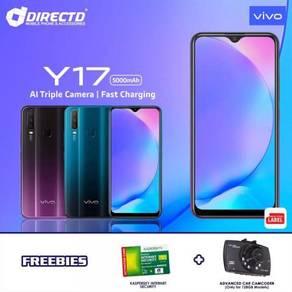 VIVO Y17 (4GB RAM | 128GB | 5000 mAh) + 2 HADIAH