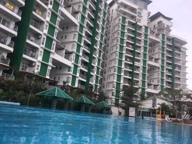 [sunrise facing] d'pines condominium, ampang, selangor