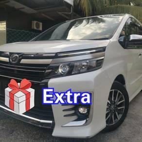 LELONG EMCO 2016 Toyota VOXY KIRAMEKI 2.0(FULLOAN)