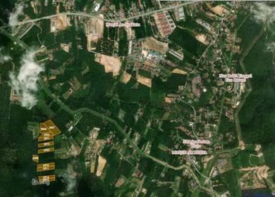 (SEBELAH SERENIA CITY) 11 Lot Tanah Pertanian Untuk Dijual Dengkil