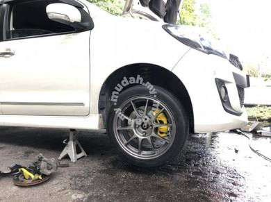 Brake disc upgrade