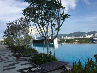Southbay Plaza Condo Duplex At Batu Maung With fully furnished