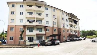 FREEHOLD 850SQFCamelia Court Apartment Desa Puteri Bandar Tasik Puteri
