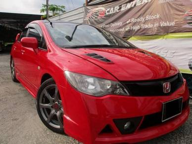 Honda Civic 1.8 (A) RED MILANO TYPE R S/RIM L/SEAT