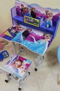Study Table Set Meja Belajar (Cartoon) - B24