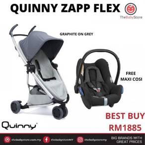 Quinny Zapp Flex Stroller FREE Maxi-Cosi Cabriofix