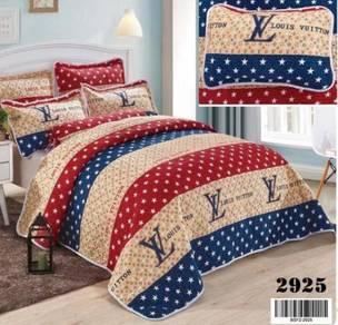 Cadar Patchwork Cotton Bed sheet - B 12