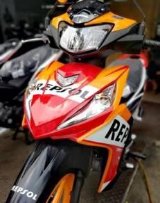 Honda dash 125 repsol promosi hujung tahun