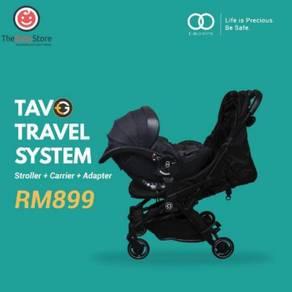 Tavo Basic Edge R Travel System - Grey/Black