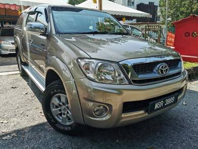 2009 Toyota HILUX 2.5 DOUBLE CAB (A) CANOPY