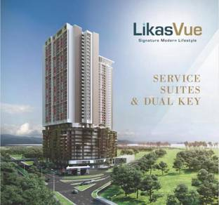 LikasVue Dual Key Service Suites Likas, Kota Kinabalu, Sabah