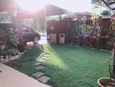 Semi-D 2 Tingkat, Fully Reno. Rumah Cantik, Berkonsepkan Modern Garden