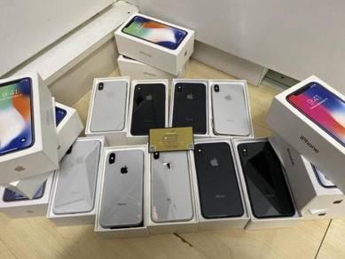 Iphone x 256gb silver space grey