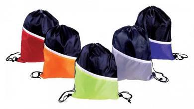 NYLON Drawstring Bag with Zipper