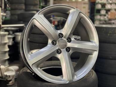 Ori 19 Audi Rim A4 A5 A6 A7 S5 S6 Q3 Q5 SILVER