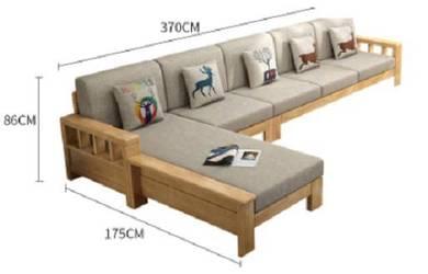 L Shape Sofa grey white 5 seater mattress bed 1