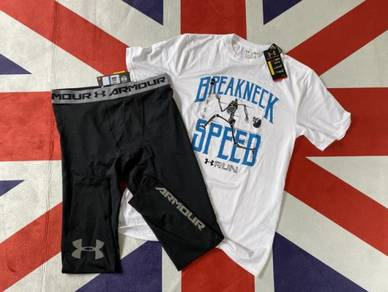 Original UnderArmour T-Shirt and Compression Pants