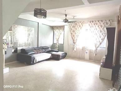 Near LRT Cempaka DUPLEX Unit Apartment Bunga Raya, Pandan Indah