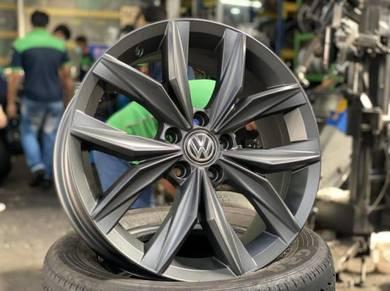 18 VW Tiguan Rim Golf Jetta EOS Passat Scirocco