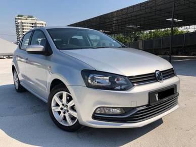 2017 Volkswagen POLO 1.6 (CKD) FACELIFT (A) Pre Ow