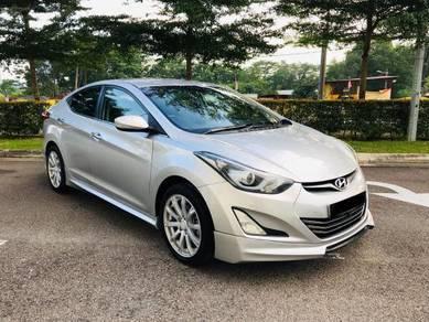 Hyundai ELANTRA 1.8 PREMIUM FU LOAN