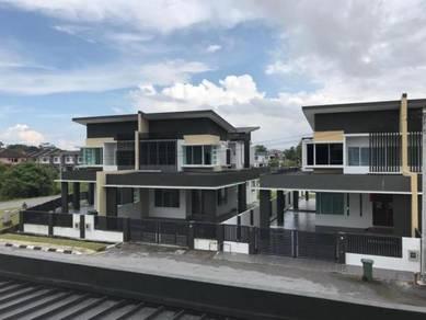 New Double Storey Semi D Jalan Kong Ping, Kuching