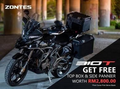 Zontes 310-T (Touring Bike) FOC 3 Box Worth 2800