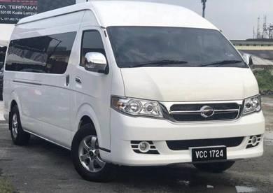 Van sewa baru 2018 harga berpatutan keselesaan max