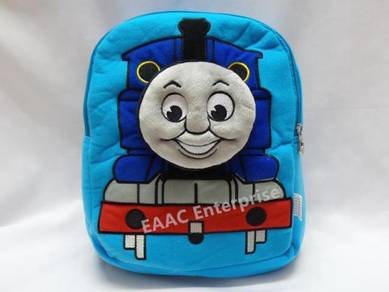 3D Thomas & Friends Train Cartoon Kid Backpack Sch